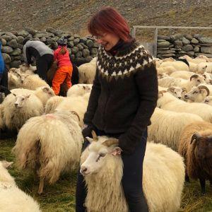 Blouson AEDI XS, S mouton noir