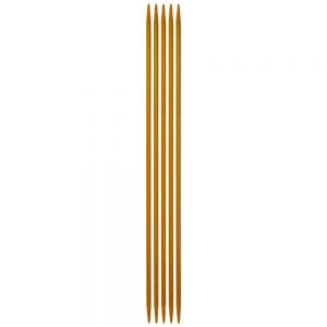 Aig. doubles pointes 3,5mm 20cm