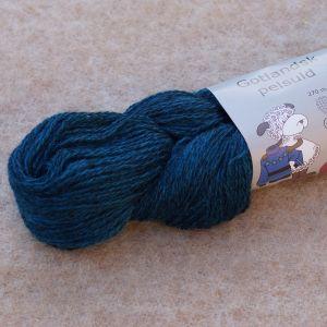 Gotlandsk Pelsuld 174 Bleu saphir