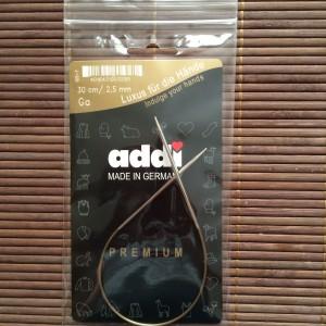 Aig. circulaire 2,25mm 30cm ADDI Premium
