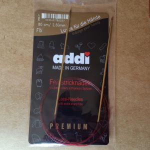 Aig. circulaire 3mm 80cm Addi LACE Premium