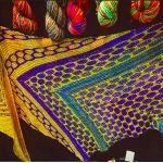 Night Shift shawl