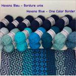 Havana Blue - One Color Border