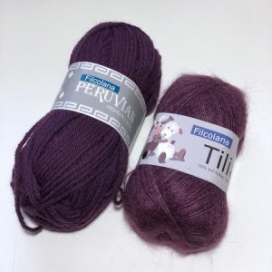 Sunday Sweater Aubergine XS
