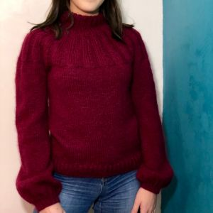 Sunday Sweater Bordeaux L