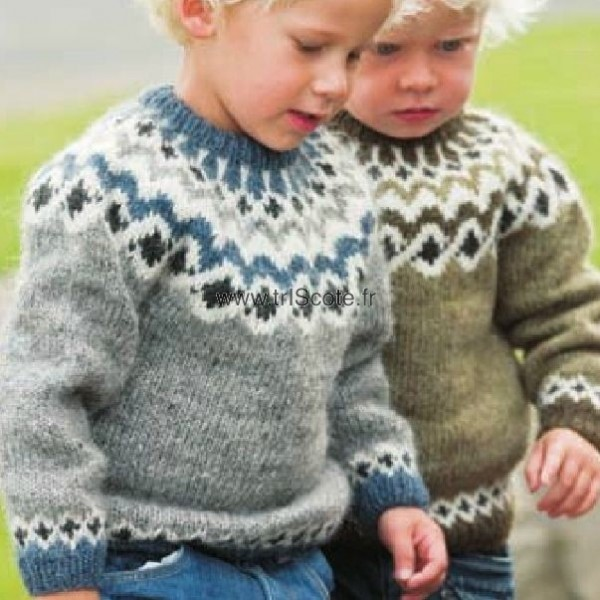 tricoter pull garcon 4 ans