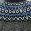 Pull Riddari gris & bleu S, M