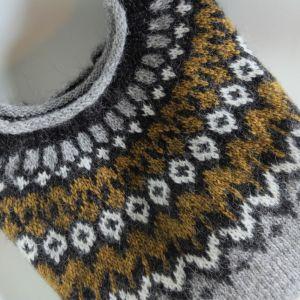 Riddari gris lichen doré L, XL