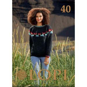 LOPI BOOK 40 anglais
