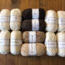 KALDAGIL Blanc et paille-marron T5