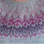 KALDAGIL Gris et rose-violet T4