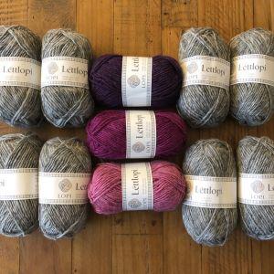 KALDAGIL Gris et rose-violet T6