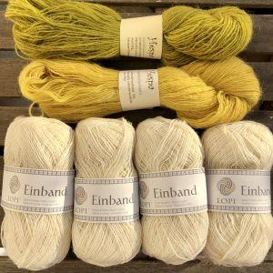 Draumur blanc & hespa lupin  XL, 2XL