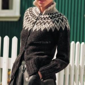 Blouson Ranga XL mouton noir