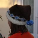 Bonnet KRIA marron