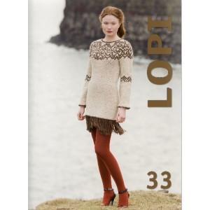 LOPI BOOK 33 anglais