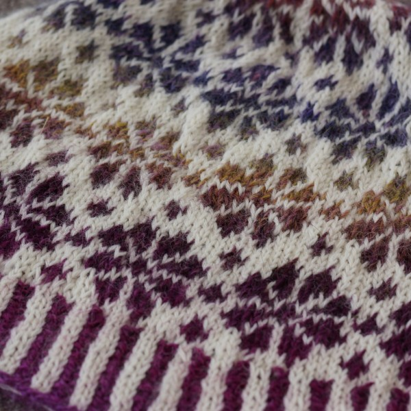 Bonnet motif scandinave triscote - Motif scandinave a imprimer ...