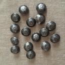 Boutons métal 25mm