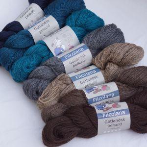 Timian Bleus & marrons  XS, S, M, L, XL