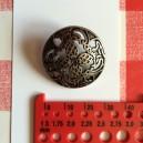 Boutons métal dentelle 30mm