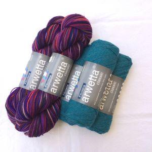 Olilia Purple Dream & turquoise