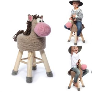 Tabouret Cheval