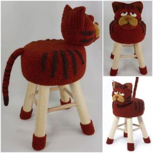 Tabouret Chat