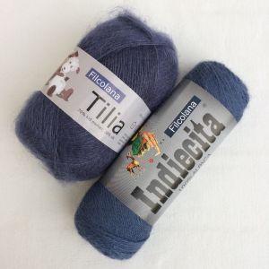 Tiliana bleu violet