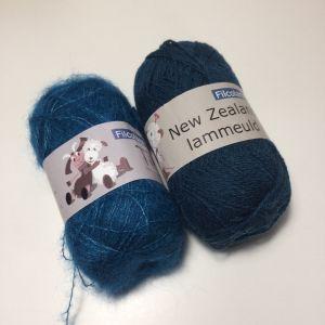 Hortensia bleu canard XS, S