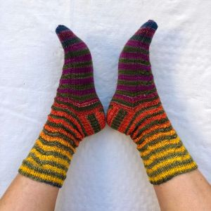 Uneek Sock 55 Happy Dance