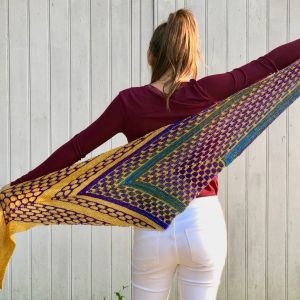 Night Shift shawl