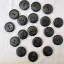 Bouton 20mm anthracite