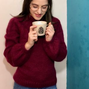 Sunday Sweater Bordeaux M