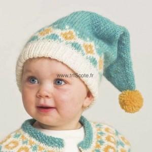 Bonnet KRÍA turquoise