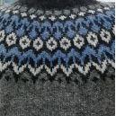 Pull Riddari gris & bleu XXL