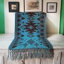 Choco turquoise Montana Wrap